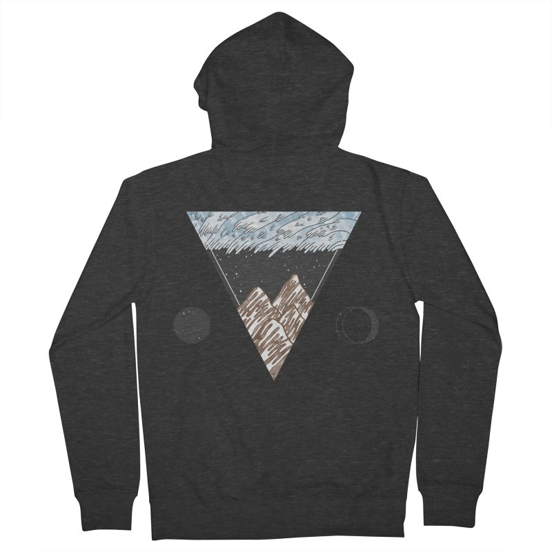 Cold Mountains Men's Zip-Up Hoody by Jaxxer Apparel