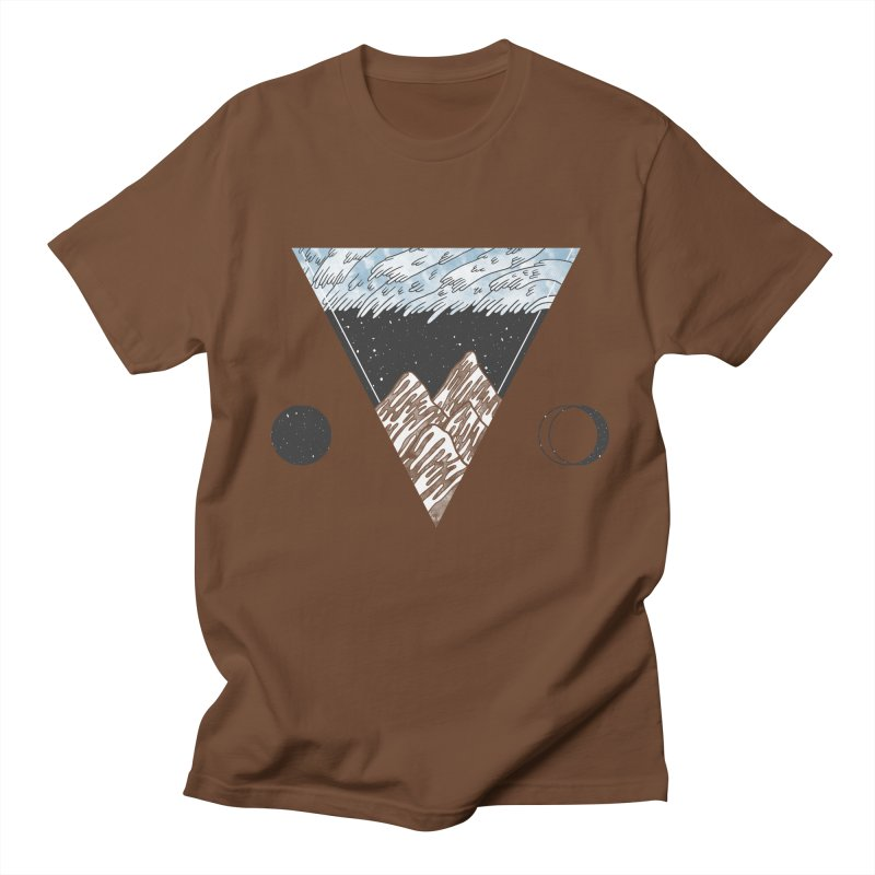 Cold Mountains Men's T-Shirt by Jaxxer Apparel