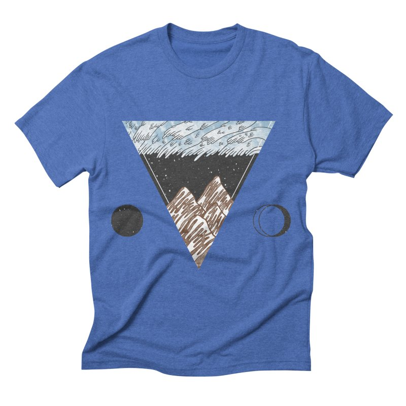 Cold Mountains Men's Triblend T-shirt by Jaxxer Apparel