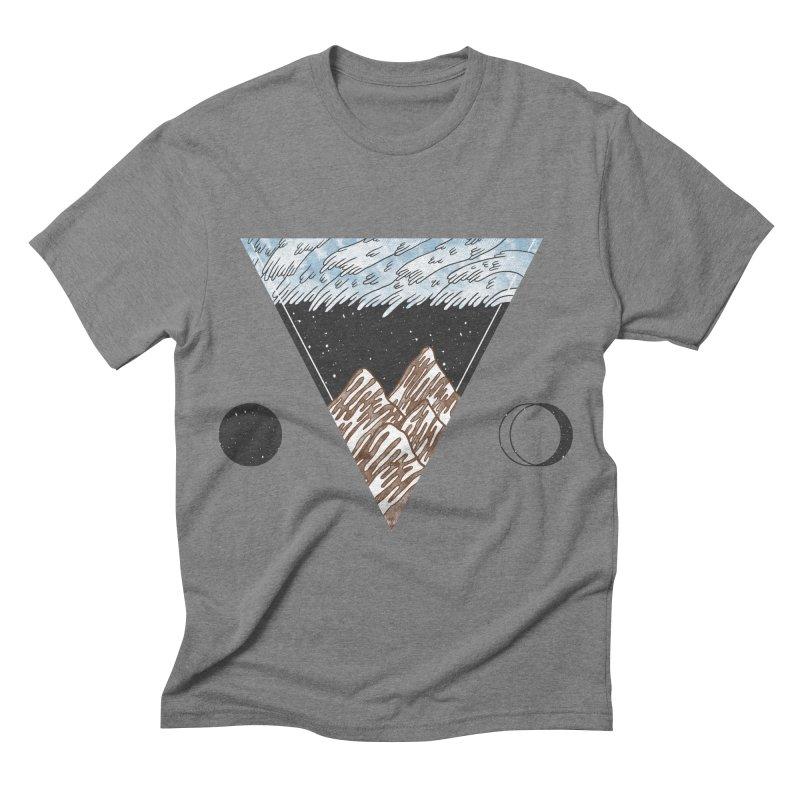 Cold Mountains Men's Triblend T-shirt by Jaxxer Apparel