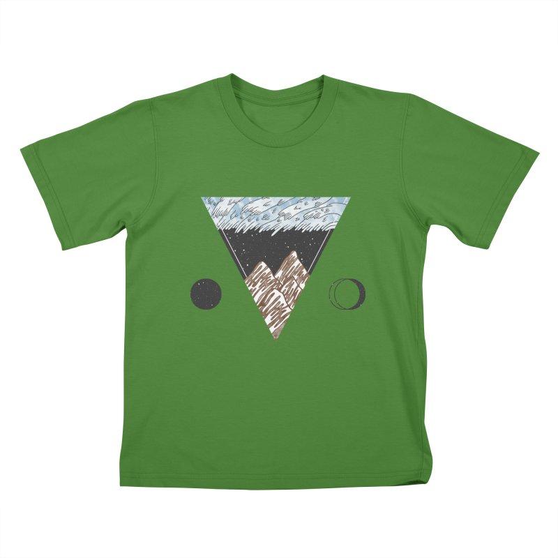 Cold Mountains Kids T-shirt by Jaxxer Apparel