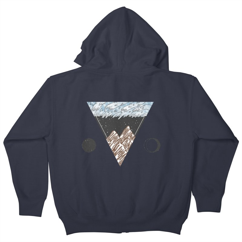 Cold Mountains Kids Zip-Up Hoody by Jaxxer Apparel