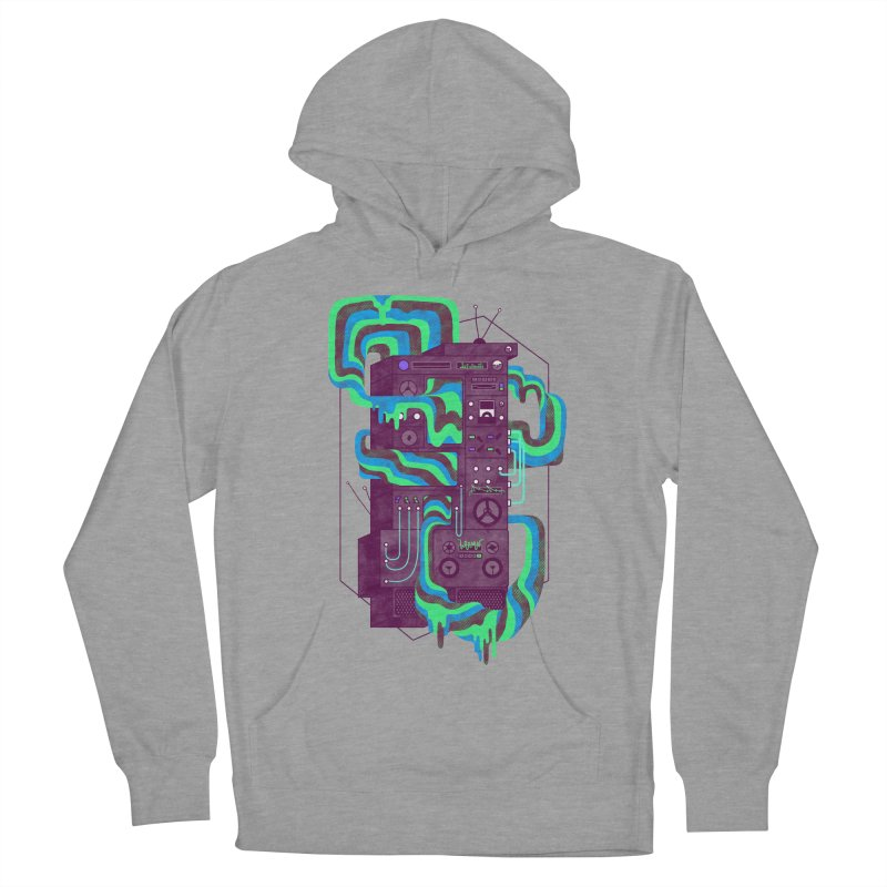 Magic Stereo Men's Pullover Hoody by Jaxxer Apparel