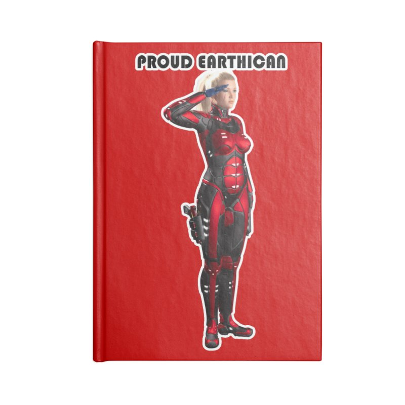 Proud Earthican Nikki Accessories Notebook by Jay20's Art Shoppe