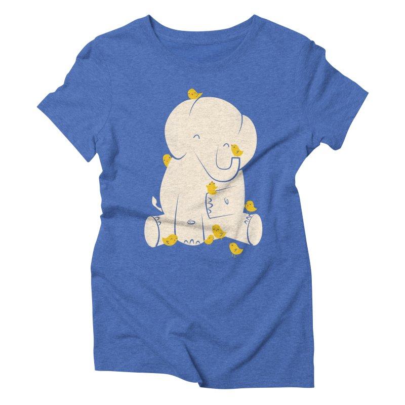 Big Mama Women's Triblend T-Shirt by jayfleck's Artist Shop