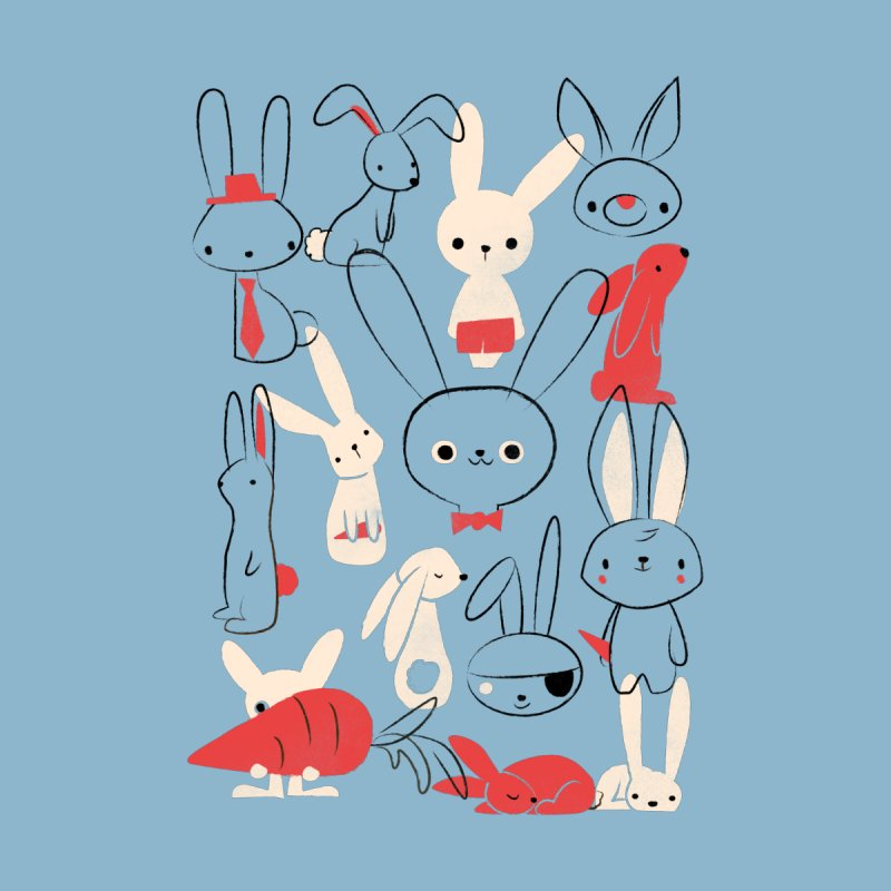 Bunnies by jayfleck's Artist Shop