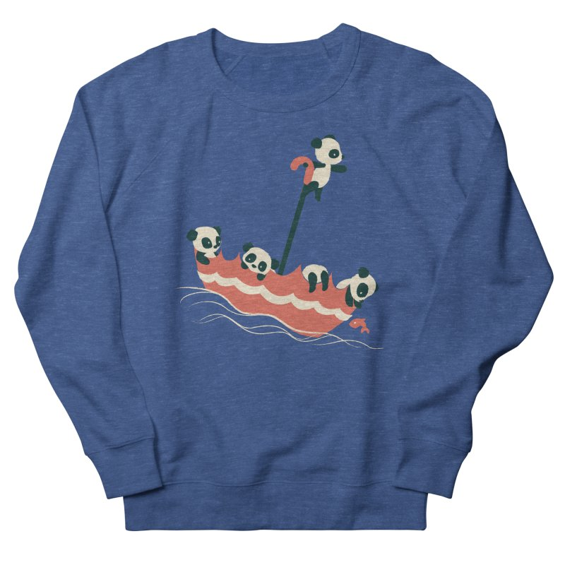 Float On Men's French Terry Sweatshirt by jayfleck's Artist Shop