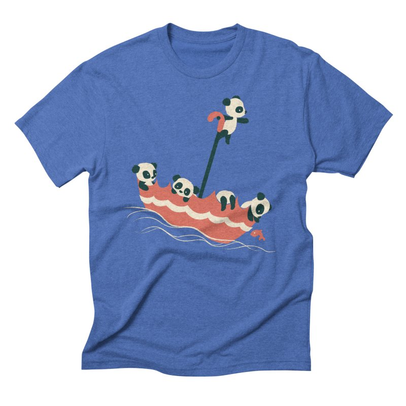 Float On Men's Triblend T-shirt by jayfleck's Artist Shop