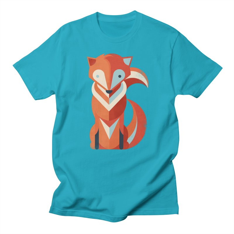 Fox Men's T-Shirt by jayfleck's Artist Shop