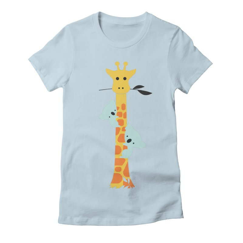 I'll Be Your Tree Women's Fitted T-Shirt by jayfleck's Artist Shop