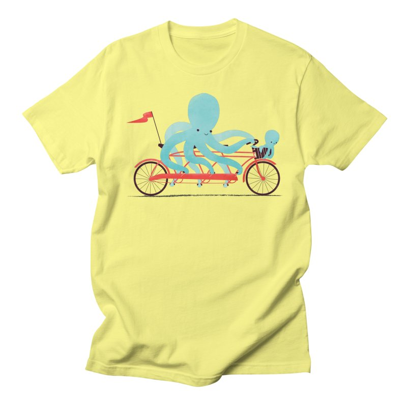 My Red Bike Men's T-shirt by jayfleck's Artist Shop