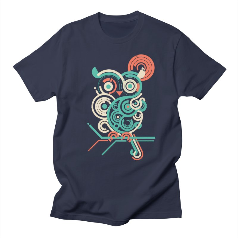 Owl 2.0 Men's T-shirt by jayfleck's Artist Shop