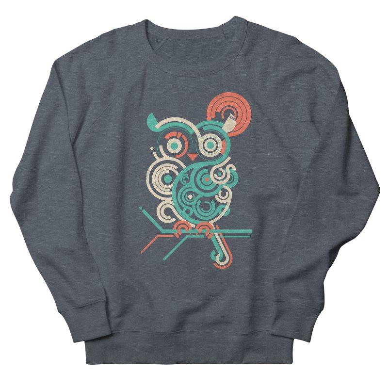 Owl 2.0 Men's Sweatshirt by jayfleck's Artist Shop