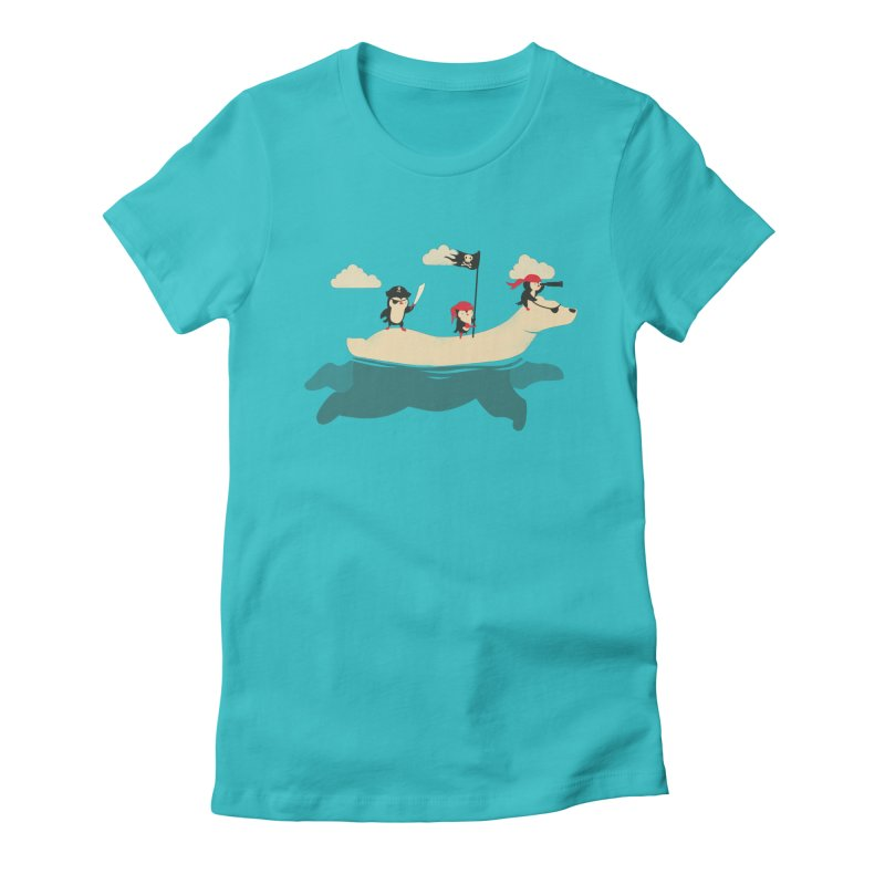 Scourge of the Arctic Women's Fitted T-Shirt by jayfleck's Artist Shop