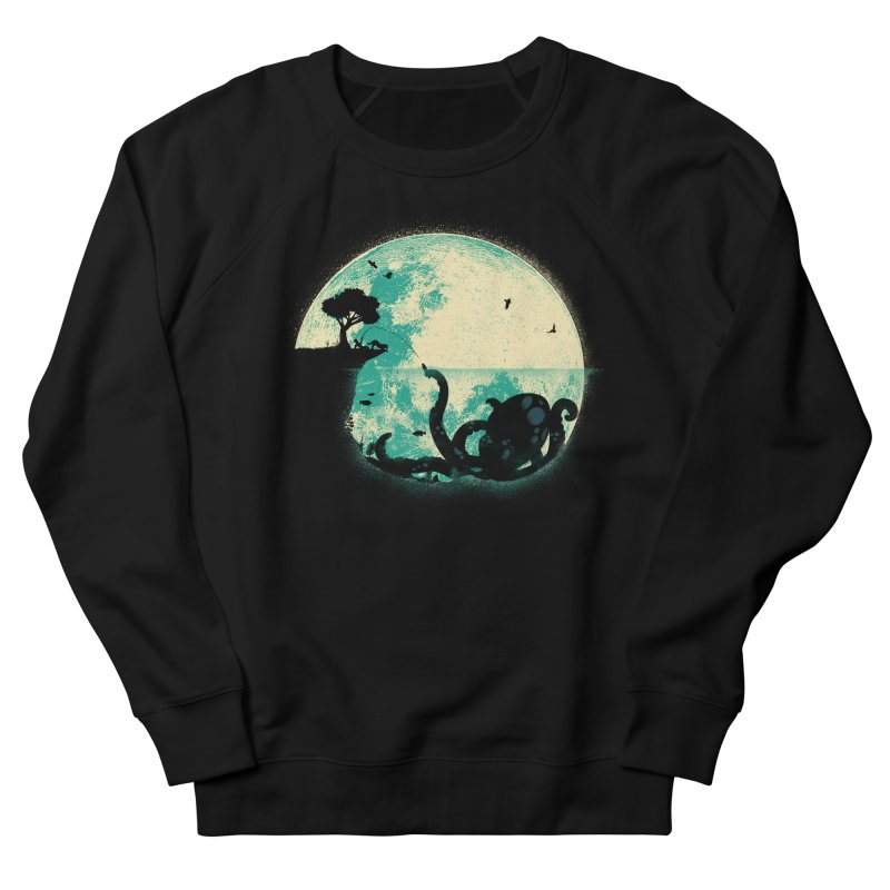 The Big One Men's French Terry Sweatshirt by jayfleck's Artist Shop