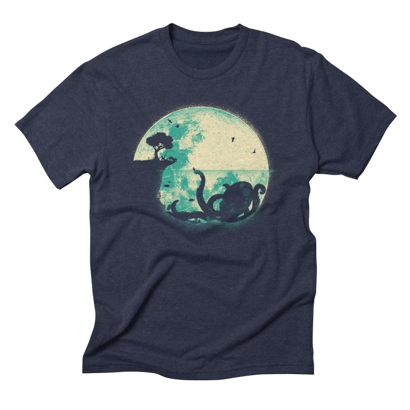 The Big One Men's Triblend T-shirt by jayfleck's Artist Shop