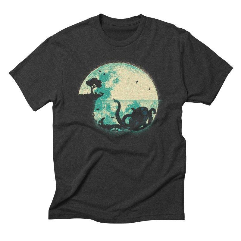 The Big One Men's Triblend T-Shirt by jayfleck's Artist Shop