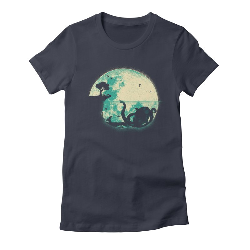 The Big One Women's Fitted T-Shirt by jayfleck's Artist Shop