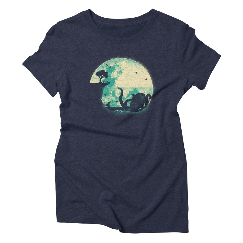 The Big One Women's Triblend T-Shirt by jayfleck's Artist Shop