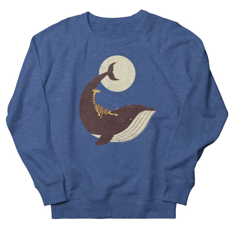 The Giraffe and the Whale Women's Sweatshirt by jayfleck's Artist Shop
