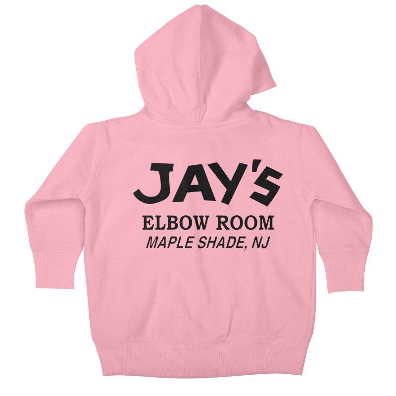Jay's Elbow Kids Baby Zip-Up Hoody by jayselbowroom's Artist Shop
