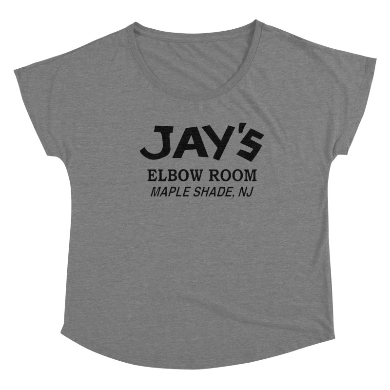 Jay's Elbow Women's Scoop Neck by jayselbowroom's Artist Shop