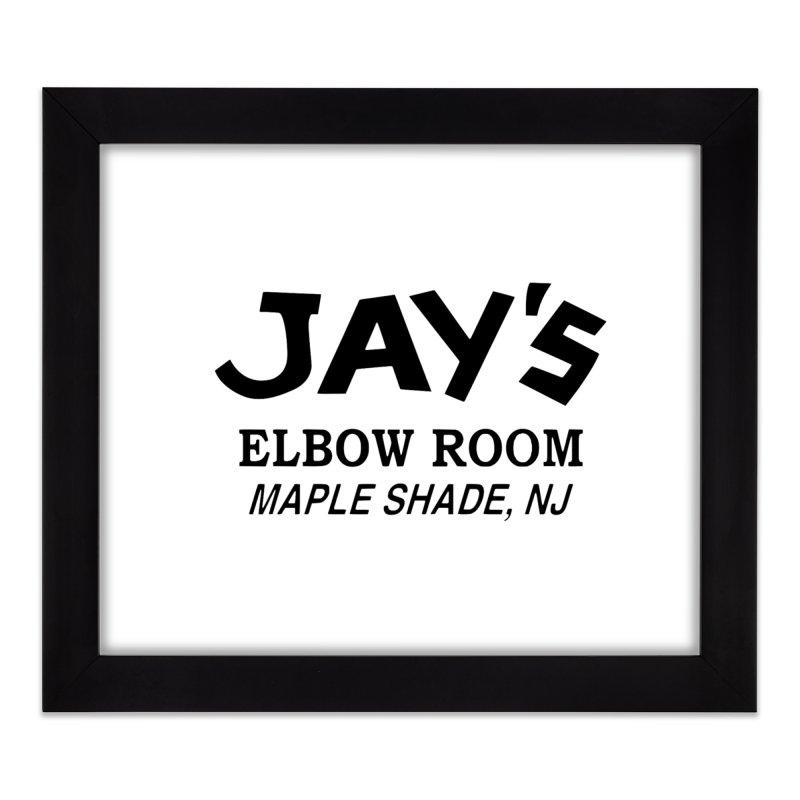 Jay's Elbow Home Framed Fine Art Print by jayselbowroom's Artist Shop