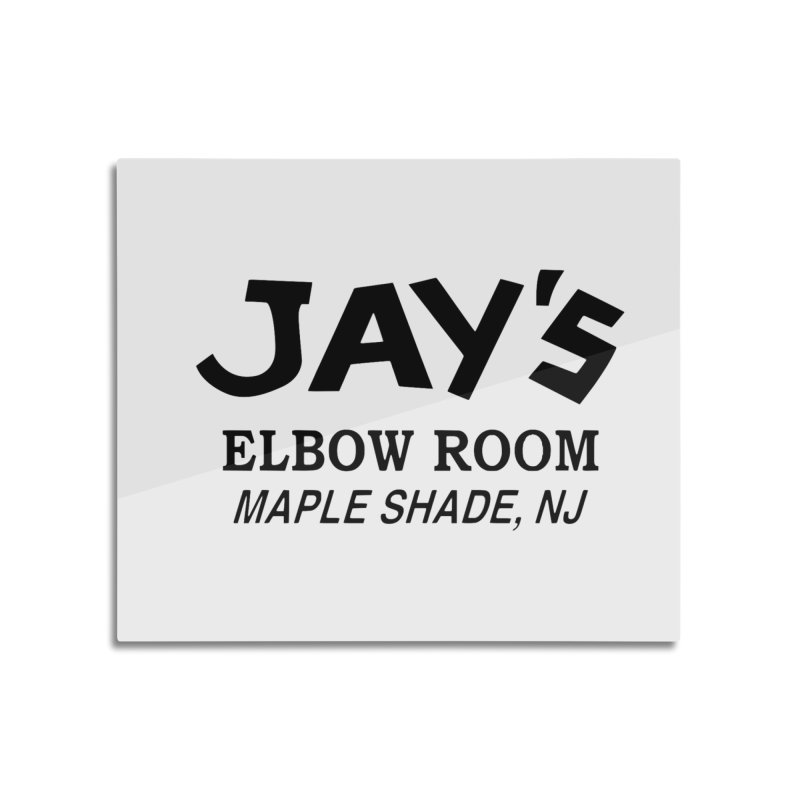 Jay's Elbow Home Mounted Aluminum Print by jayselbowroom's Artist Shop