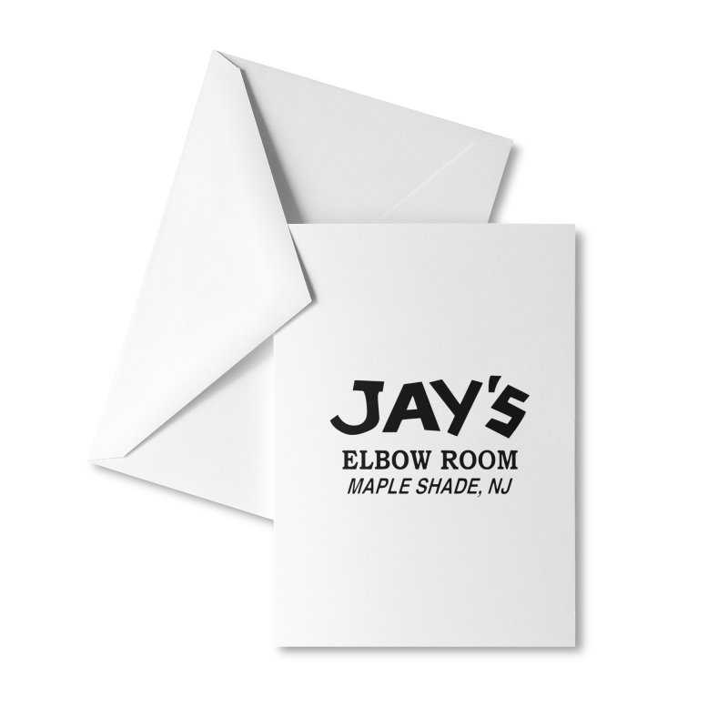 Jay's Elbow Accessories Greeting Card by jayselbowroom's Artist Shop