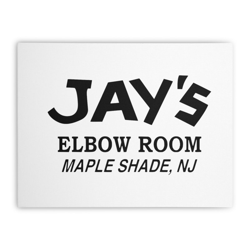 Jay's Elbow Home Stretched Canvas by jayselbowroom's Artist Shop