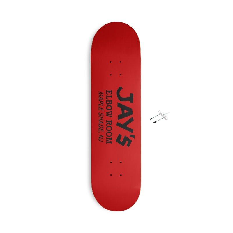Jay's Elbow Accessories Skateboard by jayselbowroom's Artist Shop