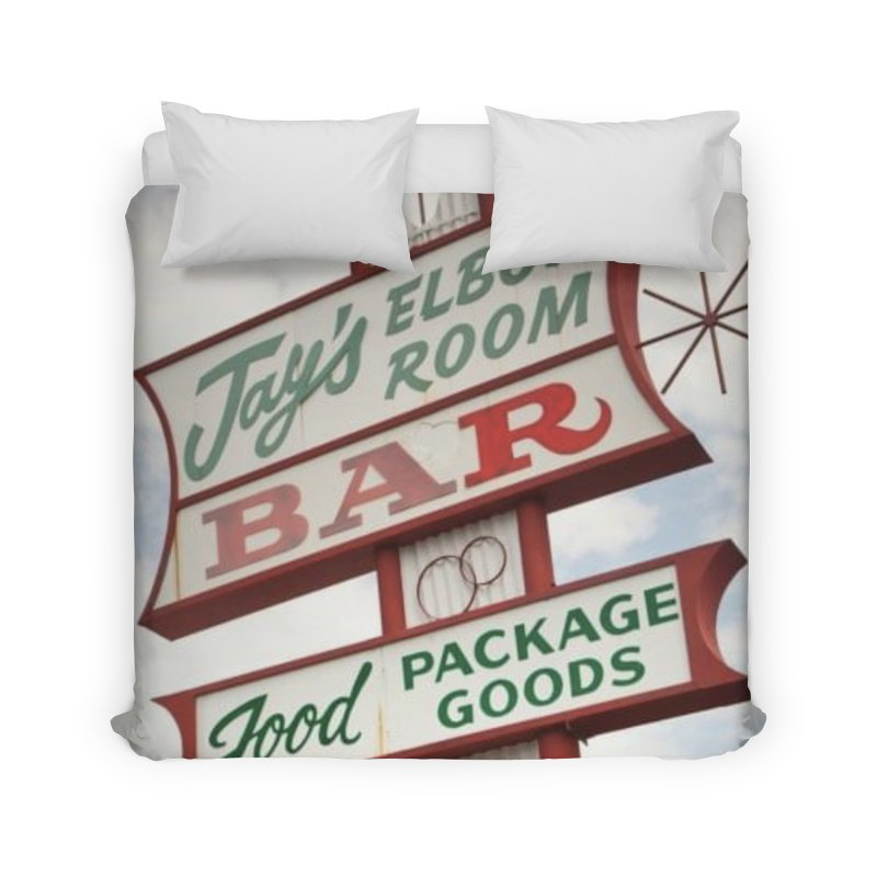 The Sign Home Duvet by jayselbowroom's Artist Shop