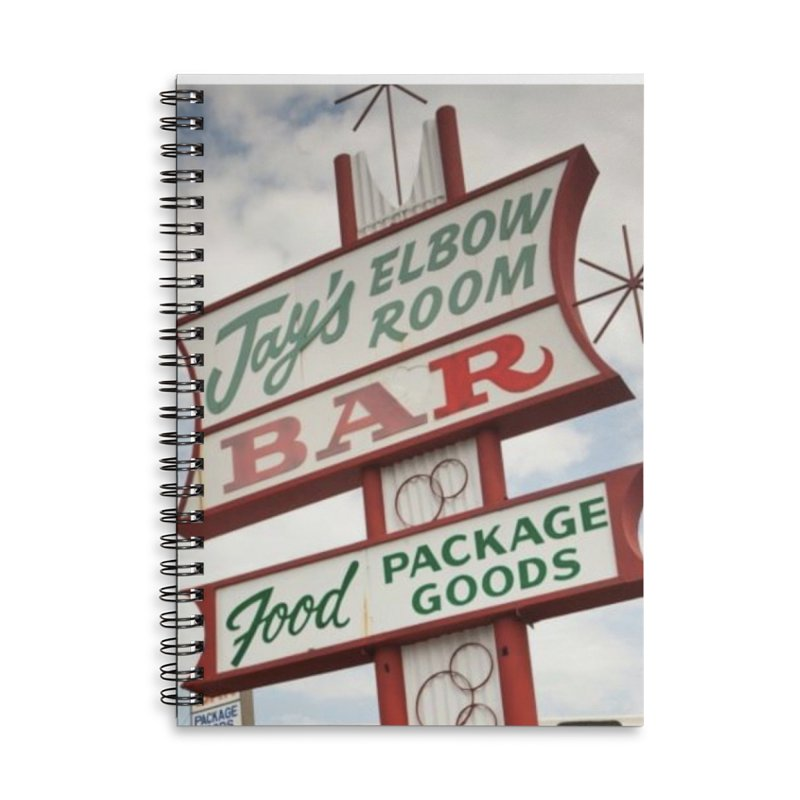 The Sign Accessories Notebook by jayselbowroom's Artist Shop
