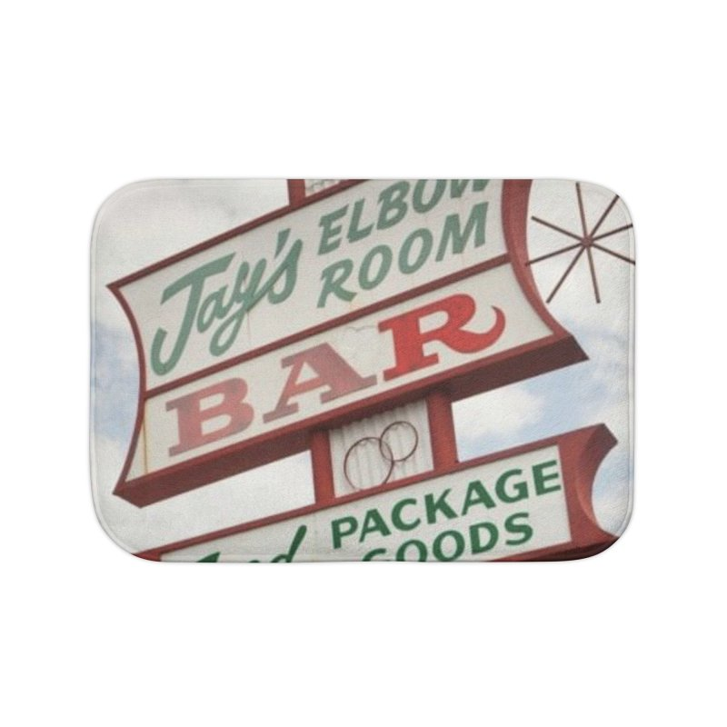 The Sign Home Bath Mat by jayselbowroom's Artist Shop