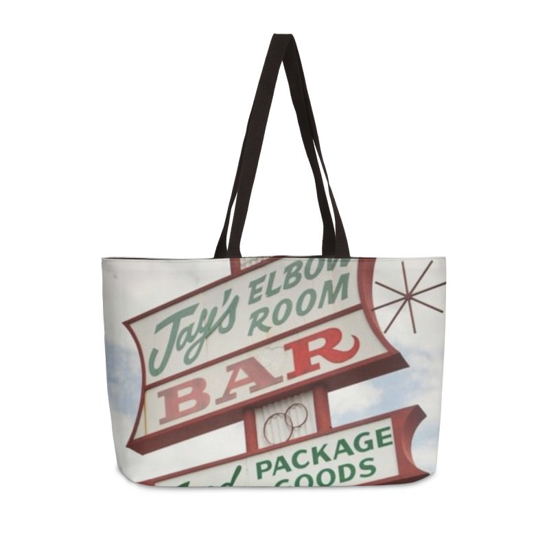The Sign Accessories Bag by jayselbowroom's Artist Shop
