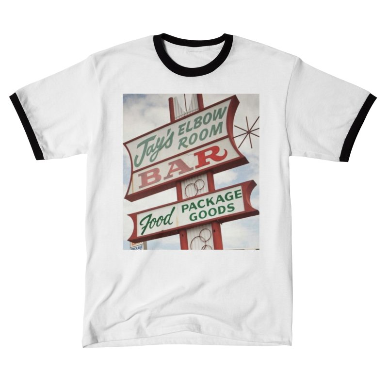 The Sign Men's T-Shirt by jayselbowroom's Artist Shop