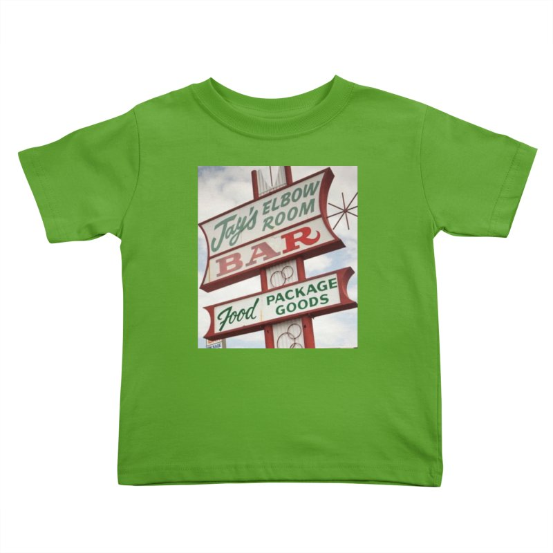 The Sign Kids Toddler T-Shirt by jayselbowroom's Artist Shop