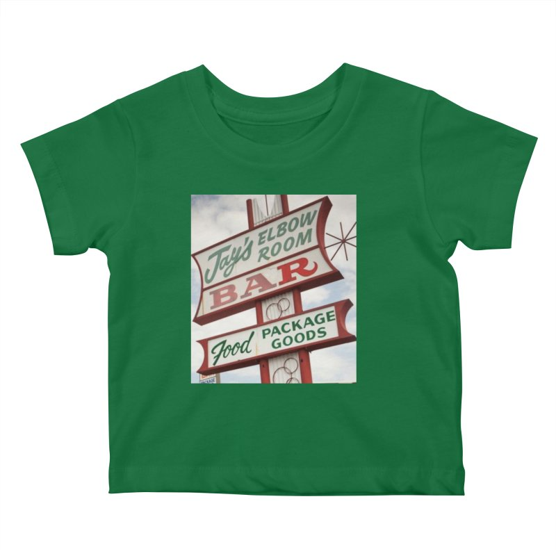 The Sign Kids Baby T-Shirt by jayselbowroom's Artist Shop