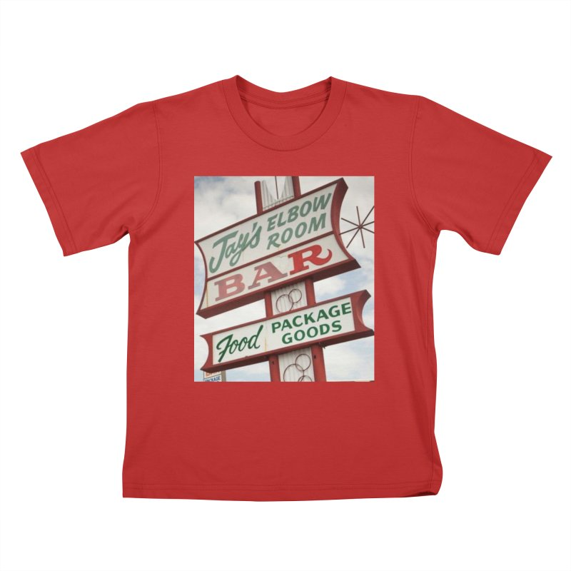 The Sign Kids T-Shirt by jayselbowroom's Artist Shop