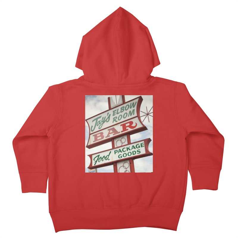 The Sign Kids Toddler Zip-Up Hoody by jayselbowroom's Artist Shop