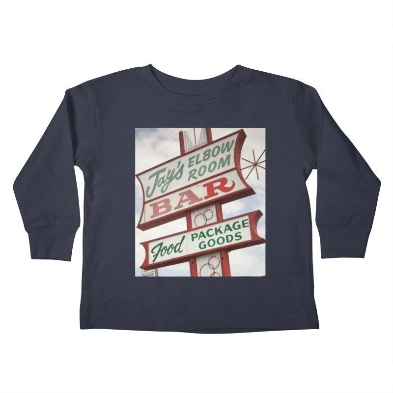 The Sign Kids Toddler Longsleeve T-Shirt by jayselbowroom's Artist Shop
