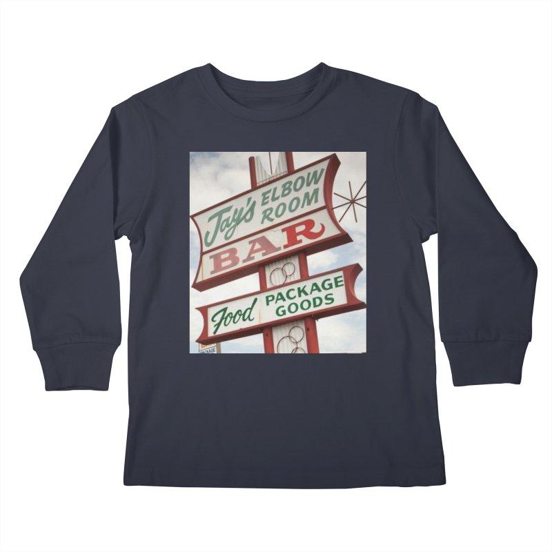 The Sign Kids Longsleeve T-Shirt by jayselbowroom's Artist Shop
