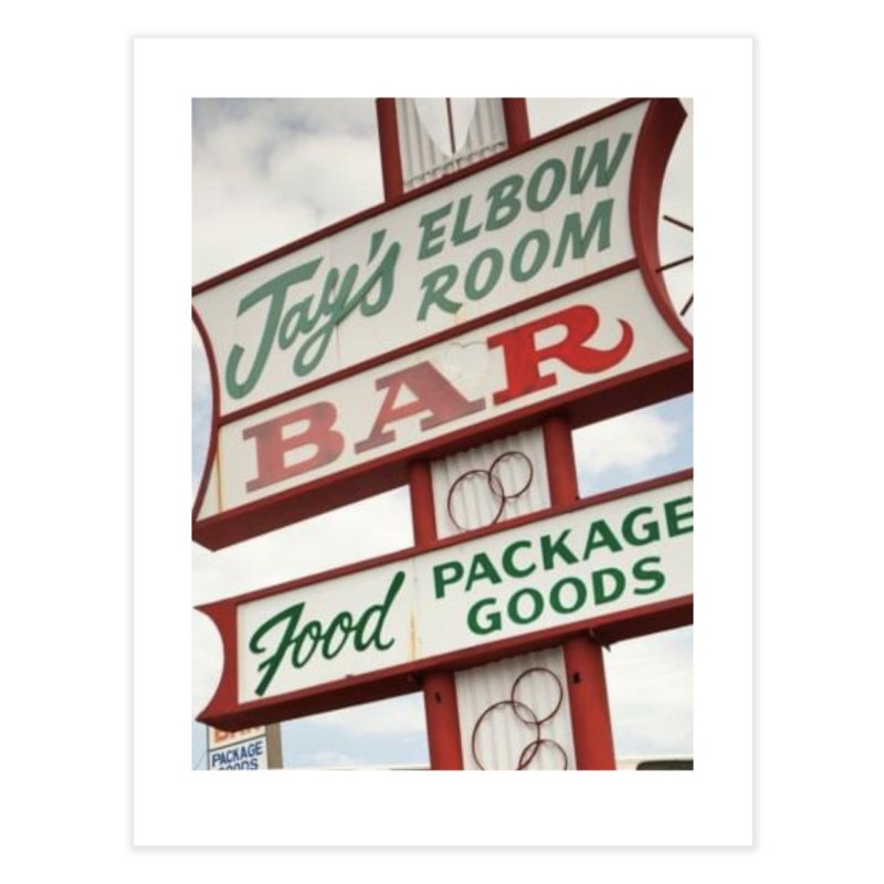 The Sign Home Fine Art Print by jayselbowroom's Artist Shop