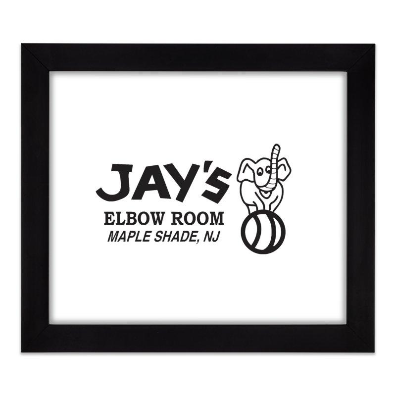 Is that an elephant? Home Framed Fine Art Print by jayselbowroom's Artist Shop