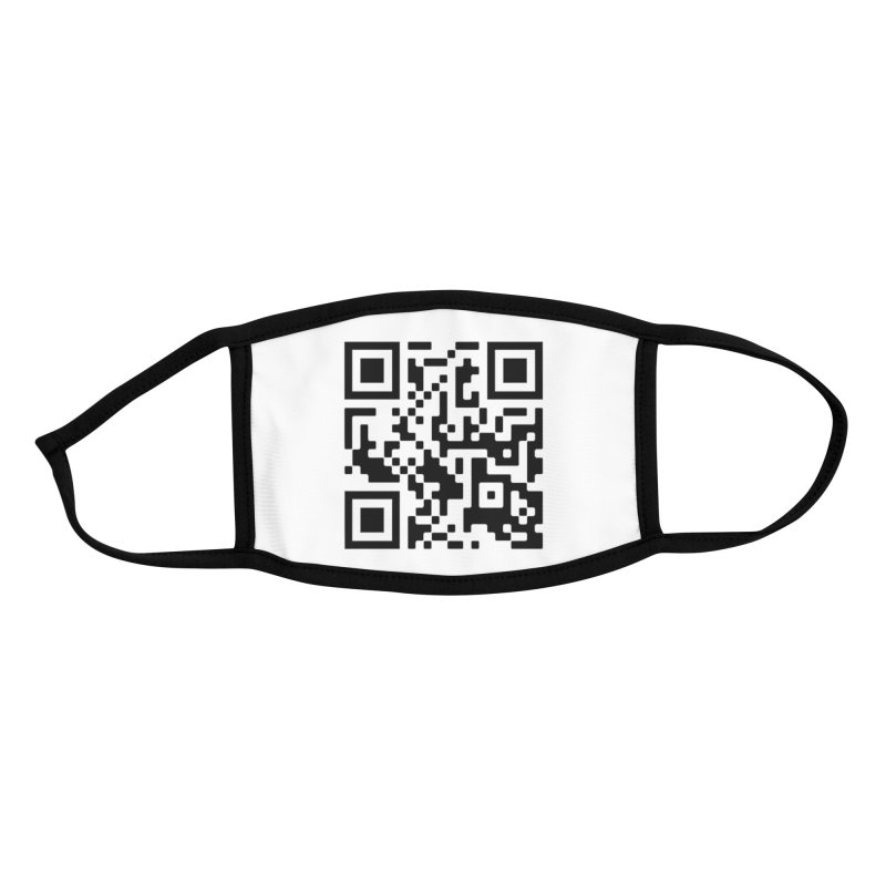 Scan Me Accessories Face Mask by jayselbowroom's Artist Shop