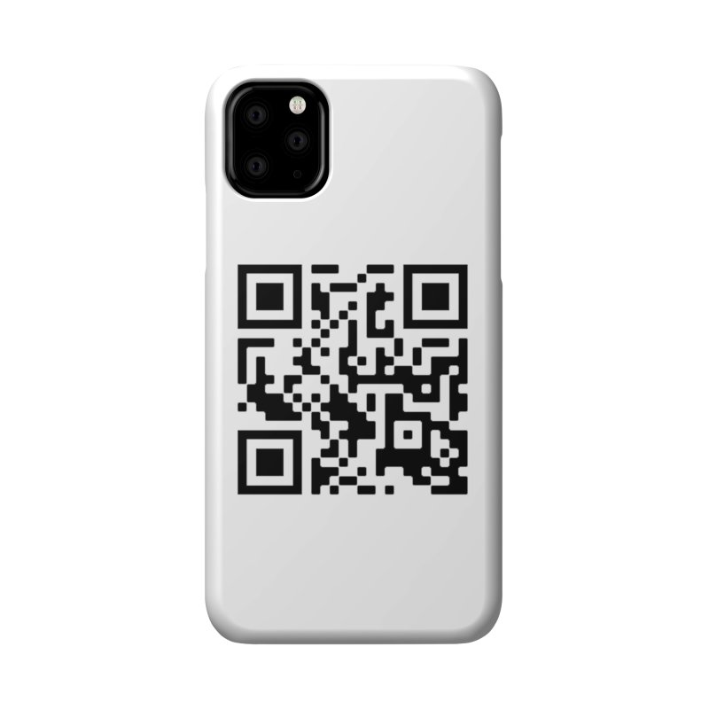 Scan Me Accessories Phone Case by jayselbowroom's Artist Shop