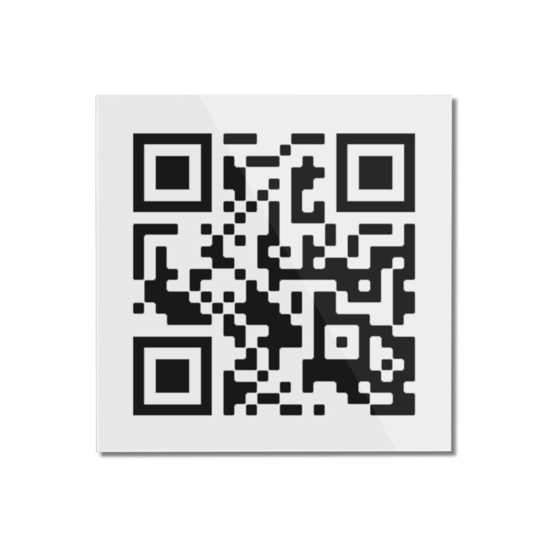 Scan Me Home Mounted Acrylic Print by jayselbowroom's Artist Shop