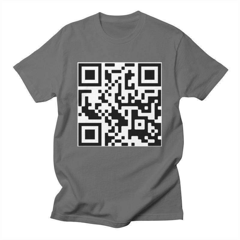Scan Me Men's T-Shirt by jayselbowroom's Artist Shop