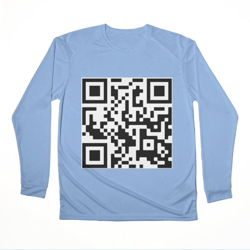 Scan Me Women's Longsleeve T-Shirt by jayselbowroom's Artist Shop