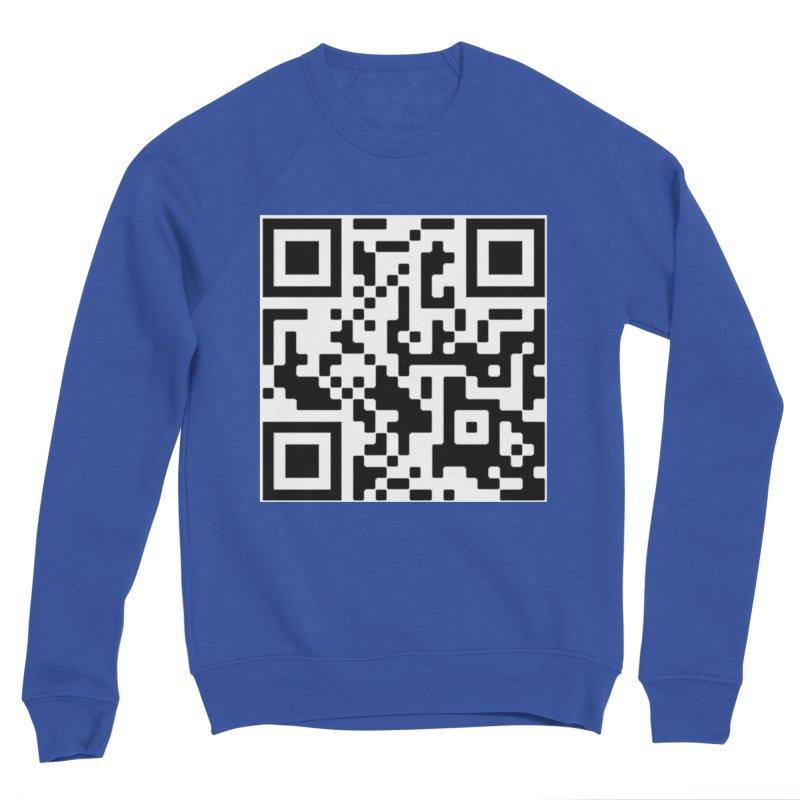 Scan Me Men's Sweatshirt by jayselbowroom's Artist Shop